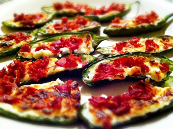 Baked Stuffed Jalapeños Recipe — Dishmaps